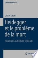 Heidegger et le problème de la mort