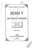 Henri V et les princes d'Orléans