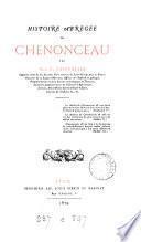 Histoire abrégée de Chenonceau