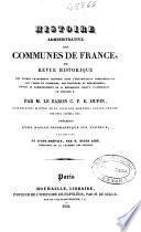 Histoire administrative des communes de France