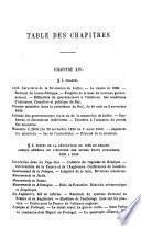 Histoire contemporaine précédée d'un résumé de l'histoire de la Révolution et de l'Empire