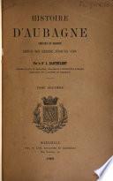 Histoire d'Aubagne, chef-lieu de Baronnie