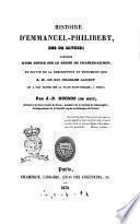 Histoire d'Emmanuel-Philibert, Duc de Savoie