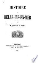 Histoire de Belle-Ile-en-Mer