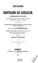 Histoire de Bertrand du Guesclin ... considérée principalement sous le rapport stratégique, poliorcétique et militaire en général