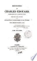 Histoire de Charles-Édouard, dernier prince de la maison de Stuart