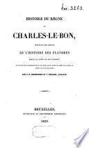 Histoire de Charles-le-Bon