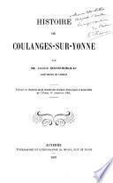Histoire de Coulanges-sur-Yonne