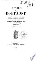 Histoire de Domfront ou recueil de nombreux documents sur Domfront depuis son origine jusqu'a nos jours