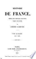 Histoire de France, depuis les origines gauloises jusqu'à nos jours