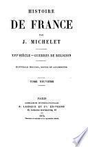 Histoire de France: Les Guerres de religion