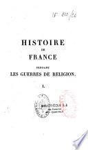 Histoire de France pendant les guerres de religion