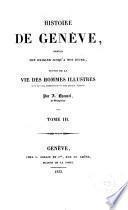Histoire de Genéve