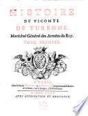 Histoire de Henri de La Tour d'Auvergne, vicomte de Turenne