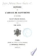 Histoire de l'abbaye de Saint-Denis en France