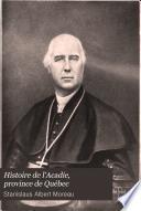 Histoire de l'Acadie, province de Québec