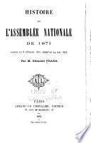 Histoire de l'Assemblée national de 1871