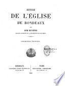 Histoire de l'église de Bordeaux