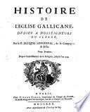 Histoire De L'Eglise Gallicane