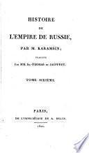 Histoire de l'empire de Russie