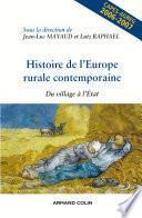 Histoire de l'Europe rurale contemporaine