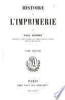 Histoire de l'imprimerie, 2