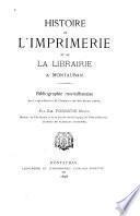 Histoire de l'imprimerie et de la librairie à Montauban