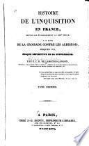 Histoire de l'Inquisition en France