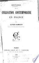 Histoire de la civilisation contemporaine en France