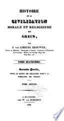 Histoire de la civilisation morale et religieuse des Grecs: (pt. 1, t. 1-2) Les siècles héroiques