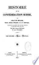 Histoire de la Confédération suisse