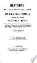 Histoire de la décadence et de la chute de l'Empire Romain