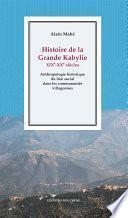 Histoire de la Grande Kabylie, XIXe-XXe siècles