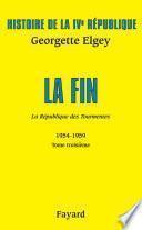 Histoire de la IVe République Volume V