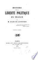 Histoire de la liberté politique en France