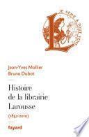 Histoire de la librairie Larousse