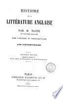 Histoire de la Littérature anglaise, 5