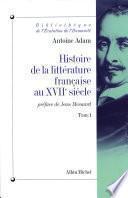 Histoire de la littérature française au XVIIe siècle -