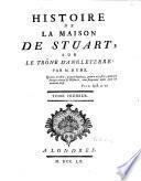 Histoire de la maison de Stuart sur le trône d'Angleterre