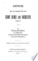 Histoire de la paroisse de Saint-Denis-sur-Richelieu