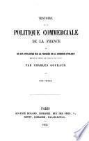 Histoire de la politique commerciale de la France
