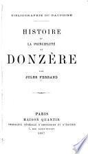 Histoire de la principauté de Donzère
