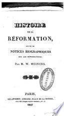 Histoire de la Réformation