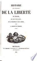 Histoire de la renaissance de la liberté en Italie