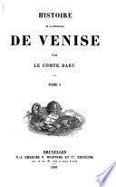 Histoire de la Republique de Venise