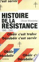 Histoire de la Résistance