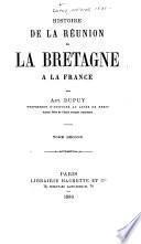 Histoire de la réunion de la Bretagne à la France