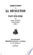 Histoire de la révolution à Pacy-sur-Eure