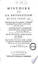 Histoire de la révolution du dix aoust 1792