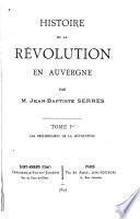 Histoire de la révolution en Auvergne